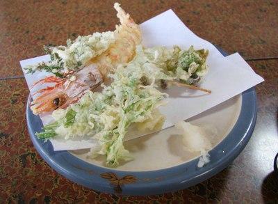 Jindai_an_tempura